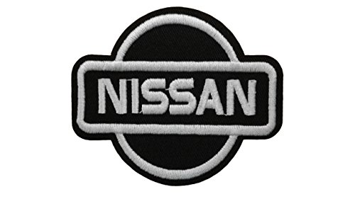 NISSAN Iron On Patch Embroidered Grand Prix Motif Applique for sale  Delivered anywhere in USA