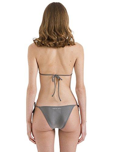 North Sails Frauen Halter Bikini Triangulär im Grau Polyamid Elastin - S 9O8sEHg