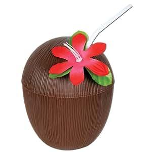 Beistle Plastic Coconut Cup