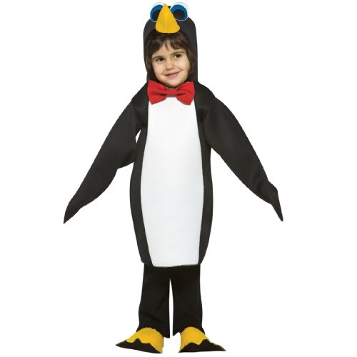 Toddler Penguin Costumes (Rasta Imposta Light Weight Penguin, Black/White,)