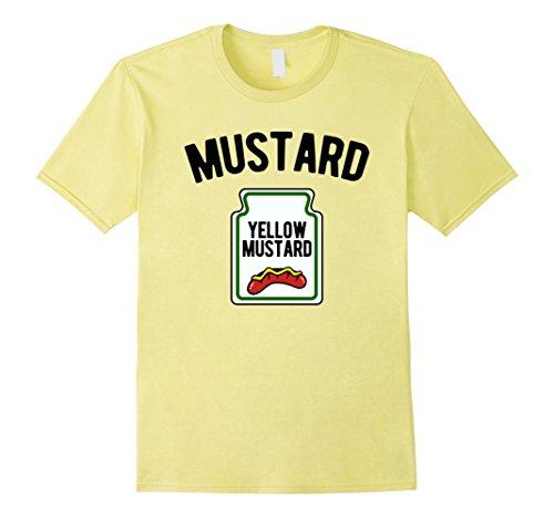 Mens Yellow Mustard Bottle - Funny Halloween Costume T-Shirt XL Lemon for $<!--$19.99-->