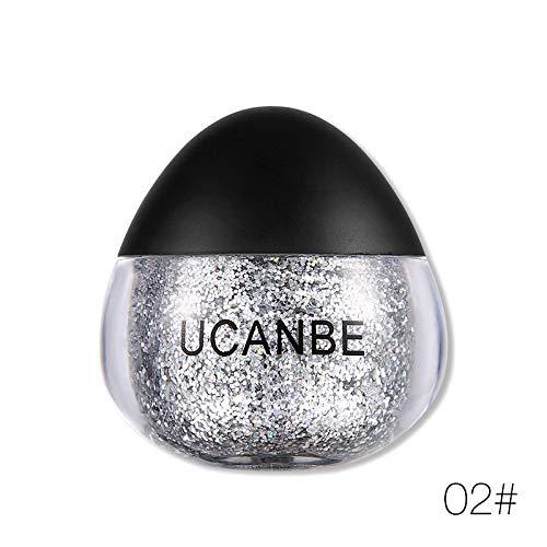(Eyeshadow Makeup 11 Colors Diamond Eyeshadow Powder Gel Glitters Paste Flash Metal Nude Cream Beauty Cosmetic)
