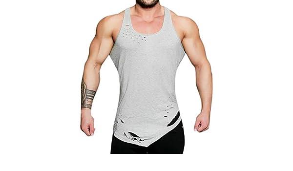 78a669999a820 Amazon.com  Mens Gym Workout Bodybuilding Vest
