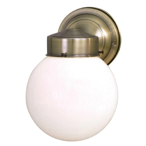 Outdoor Lighting Antique Brass Finish - 2