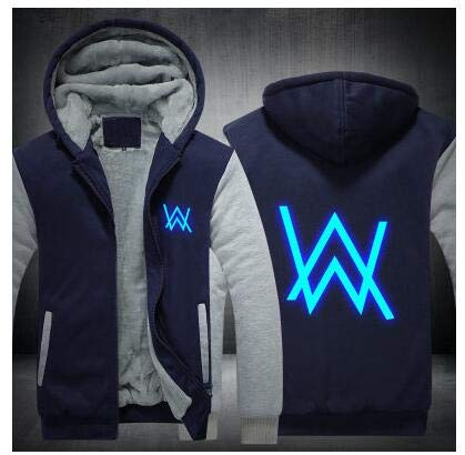 Dj Zipper Hoodie Sweater Alan Walker Audio Faded Fashion Casual Jacket Coat Tops