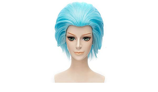 Amazon.com : LanTing Cosplay Wig The Seven Deadly Sins Ban Blue Wigs Corta Styled Frauen Cosplay Party Fashion Anime Human Costume Full wigs Synthetic Hair ...
