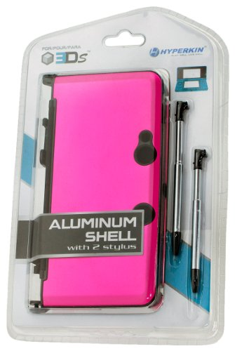 3DS Aluminum Shell plus Stylus Pens