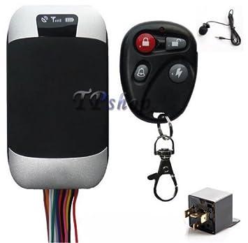 Topolenashop localizador satélite Antirrobo GPS GSM GPRS GPS Tracker tk303g coche moto: Amazon.es: Coche y moto