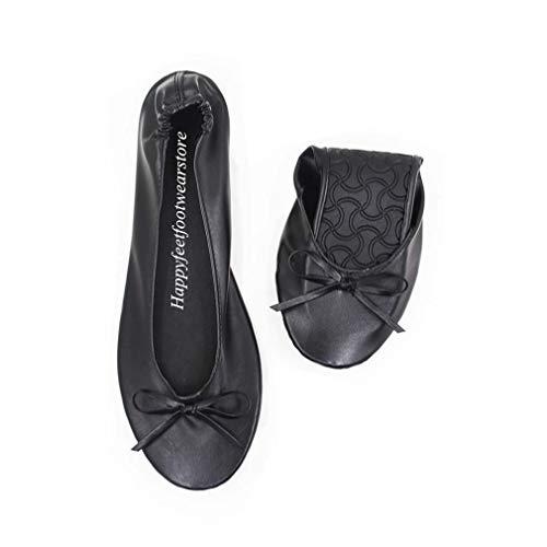 Femme Black Feet With Happy Hfp01 Ballet Bag tqTw1SB