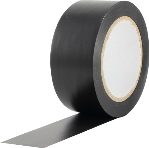 ProTapes Pro 50 Premium Vinyl Safety Marking and Dance Floor Splicing Tape, 6 mils Thick, 36 yds Length x 2