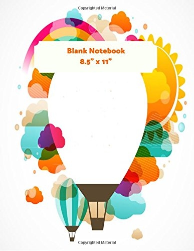 """8.5"""" x 11"""" Blank Notebook: Sky Pattern Cover For Notes and Journal Entries. Free Layout Book To Write in, Men, Women, Boys & Girls / Classroom, Home / ... list etc. / 8.5""""x11"""" Paper size (Volume 27) PDF"""