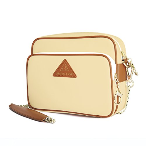 Arden Cove Full Anti-Theft Waterproof Cross-Body Bag (20'' Drop Length, Cream) by Arden Cove (Image #1)
