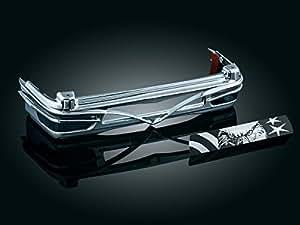 Kuryakyn 8666 Colossus Rear Trim For Ultra Tour-Pak Light Bar For Harley-Davidson