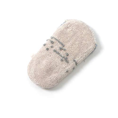 3-5T, 6 Toddler Non Skid Low Cut Socks Anti Slip Grip Slippers for Baby Kids Boys Girls