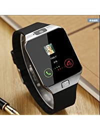 DZ09 Smart Watch Smart children's sports Watch Touch Screen for Android and iOS +8GB Memory Card (black)