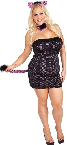 Plus size Kitty Costume KittyX 12x - Plus Size Kitty Costumes