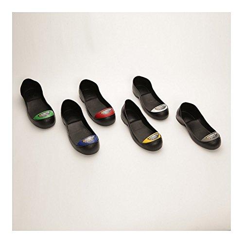 Impacto TT M Turbot Molded PVC Safety Toe Caps with Steel Toe, XL(12-13), Black, Medium(8-9) - Image 1