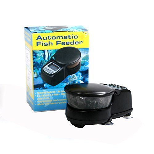 Wopet automatic fish food feeder digital programmable for Fish food dispenser