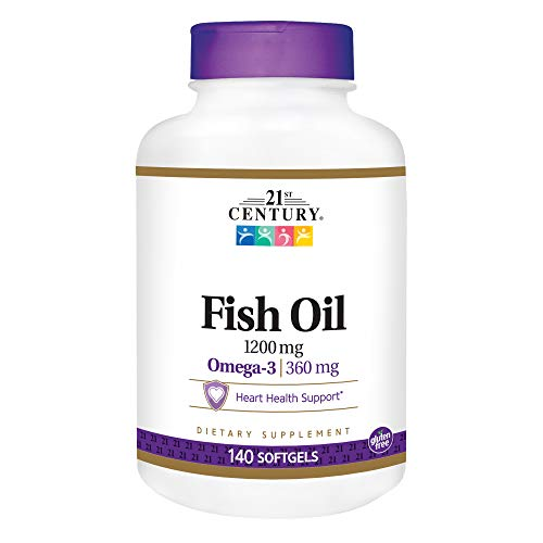 21st Century Fish Oil 1200 mg Softgels, 140 Count Review