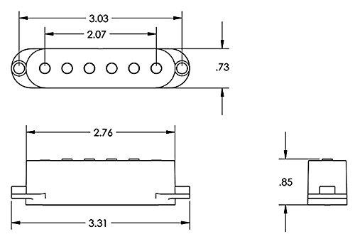 Seymour Duncan 11208 - 10-wc stk-s4 Classic pila Plus blanco guitarra eléctrica Strat Pickup Set Bundle: Amazon.es: Instrumentos musicales