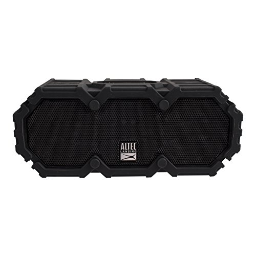 Altec Lansing iMW578 LifeJacket-3 Heavy Duty Rugged Waterproof Bluetooth Wireless Speaker, 50FT Range Extreme Sound Waterproof Speaker, ALL-Weatherproof, Speakerphone, 30 Hour Battery Life by Altec Lansing