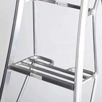 Henrys Tripod Garden Ladders With Built In Platform By Henchman 3 6m 4 2m 12 Ladder All 3 Legs Fully Adjustable Lightweight Aluminium Garden Maintenance Hedge Cutting Fruit Picking Tree Pruning Topiary Ladder Amazon Co Uk