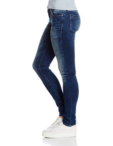 Moulante Femme Skinny Serena Glam Used Dark Corps Prs du Jean Jambe Bleu Mavi Coupe z64a1Iqz
