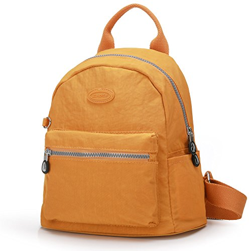 Lily & Drew Nylon Mini Casual Travel Daypack Backpack Purse...