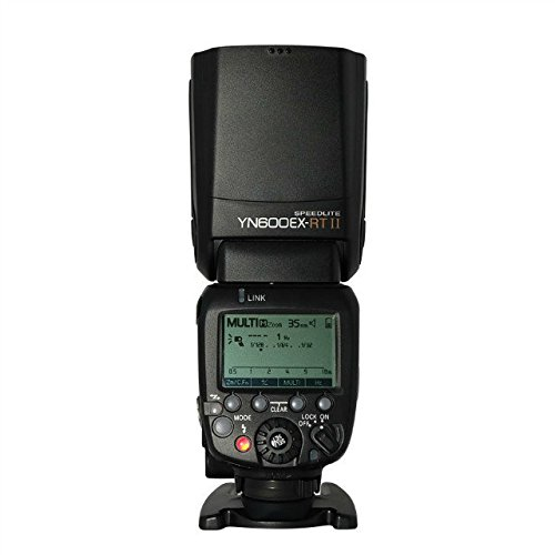 YONGNUO YN600EX-RT II Wireless Flash Speedlite with Optical Master and TTL HSS for Canon