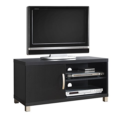 "Techni Mobili RTA-8897-BK Modern TV for Up To 40"" Stand with"