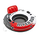 """Search : Intex Red River Run 1 Fire Edition Sport Lounge, Inflatable Water Float, 53"""" Diameter"""