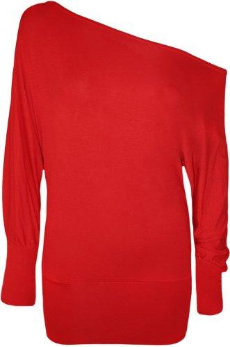 Funky Boutique - Camisas - para mujer Rojo