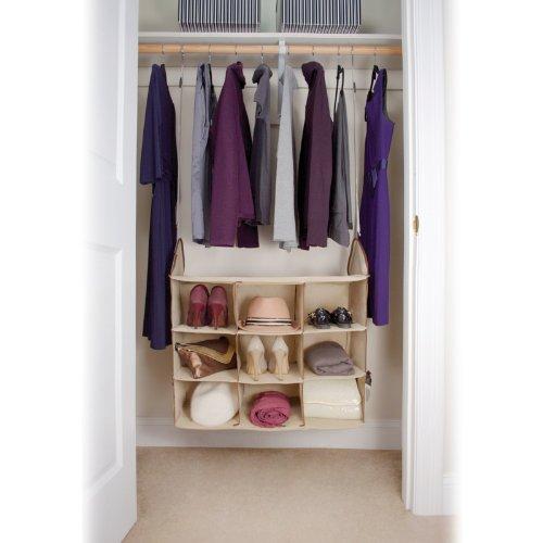 hanging closet storage center - 2