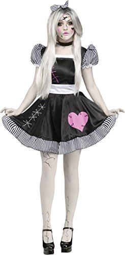 [Morris Costumes FW124074SD Broken Doll Adlt Small-medium] (Broken Doll Costume For Adults)