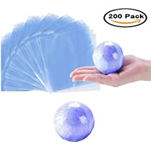 "Mydio 200 Pack 6"" x 6"" Shrink Wrap Bags,for Bath Bombs , Soaps , Bottles , DIY Crafts"