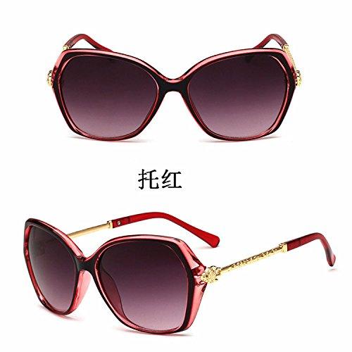 C4 Fashion Lunettes zhenghao De De Métal Soleil Xue Les Lunettes OpznYwUOqF