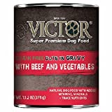 Cheap Victor Grain Free Cuts in Gravy with Beef and Vegetables Canned Dog Food 13.2oz 12 Case