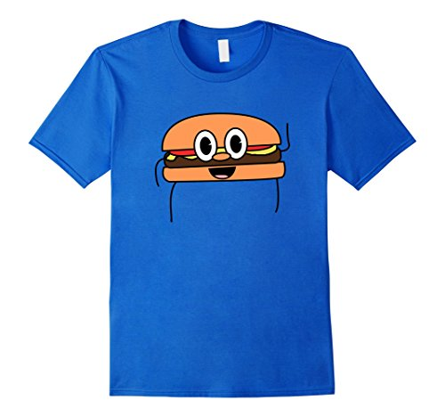 Best Halloween Costumes Ideas For Couples (Mens Awesome Matching Burger Halloween Costume T-Shirt Idea 2XL Royal Blue)