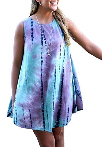 Fashion Womens Swing Sleeveless Summer
