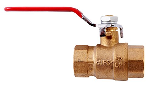 LDR 022 2263  ½-Inch IPS Full Port Heavy-Duty FIP Ball Valve Lead-Free Brass