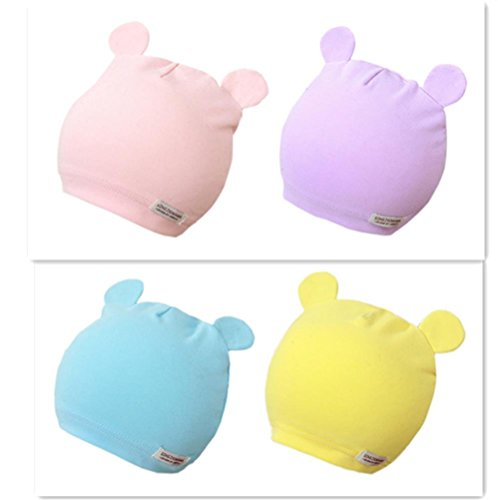 gzmm-baby-newborn-beanie-hats-soft-cotton-4-packs-for-unisex-infant-0-6months-s-4pack-mix-color