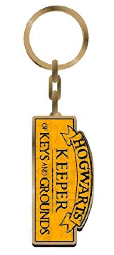 Harry Potter Metal Keychain Keeper of Keys 5 cm Half Moon Portachiavi (The Keeper Of The Keys Harry Potter)