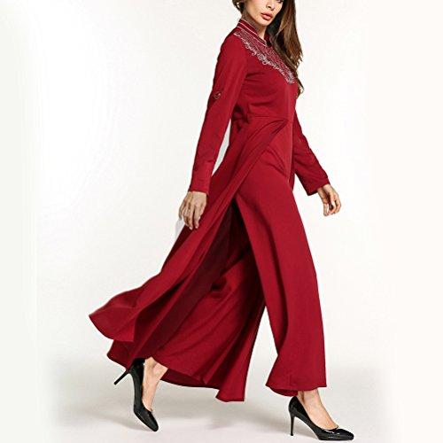 Zhuhaitf Élégante Partie De Style Farasha Chic De Longues Robes Maxi Robes Caftan / De Caftans Dans Le Salon Style Kimono Usure 5796