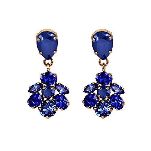 codice promozionale b9942 e3d36 orecchini pietre Blu: Amazon.it: Gioielli