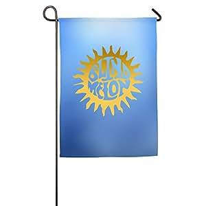 ericp Blind Melon sol Logo bandera de Jardín