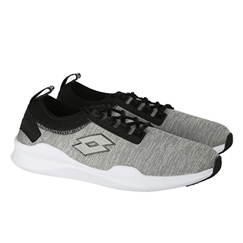 Grey 8 Lt Shoes Amerigo Running Lotto India UK Men's Black BcHUtF