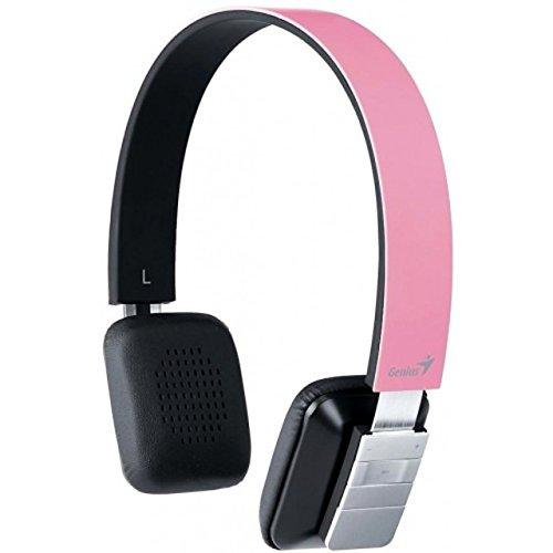 Bluetooth Headband Headset - Pink