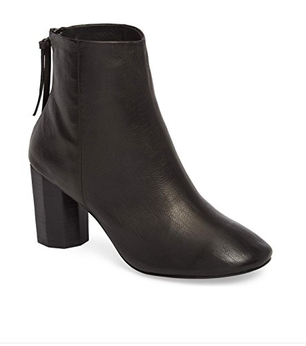 - Grey City Sadie Column Heel Bootie Black