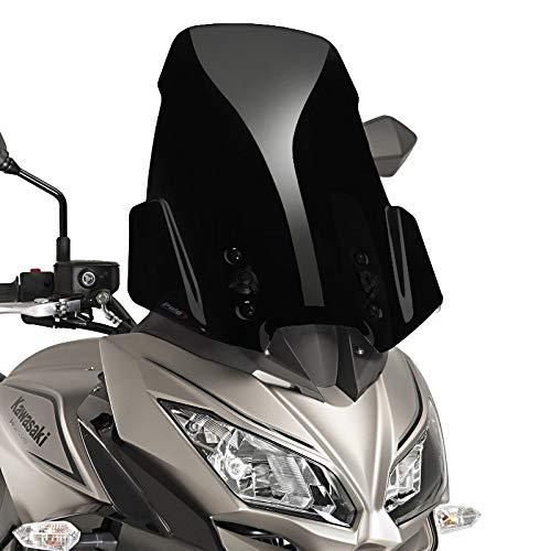Puig Bulle Touring Couleur Noir 9421N 650, Kawasaki Versys 1000 17'-18 Kawasaki Versys 1000 17' -18 Motoplastic S.A.