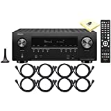 Denon AVR-S940H 7.2 Ch High Power 4K Ultra HD AV Receiver w/Built-in HEOS Technology, Dolby Atmos, DTS:X & DTS Virtual:X, Apple AirPlay 2 & Amazon Alexa Voice Control with 8 HDMI Cable & Zorro Cloth